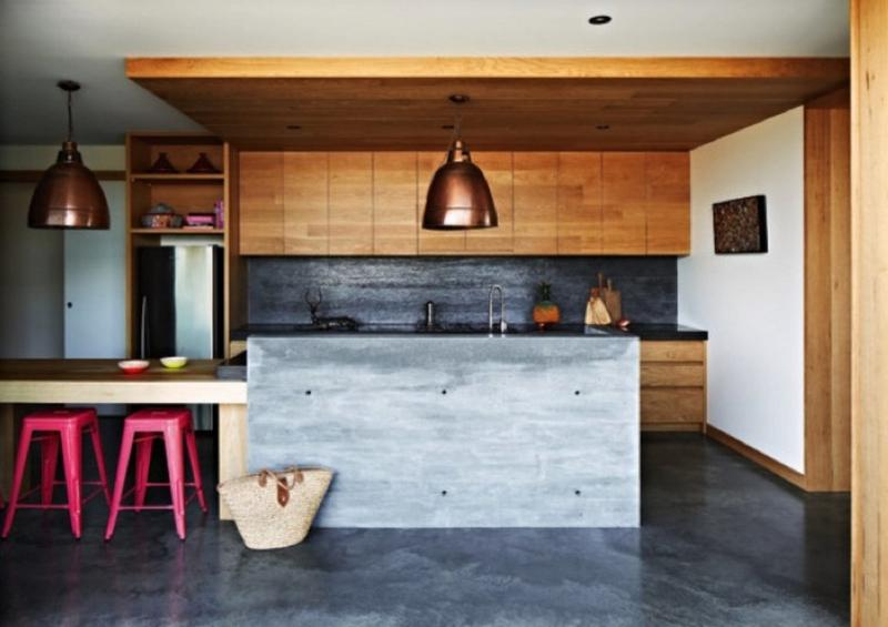 15 captivating kitchen designs with wood paneled walls - Wood paneling ideas modern ...