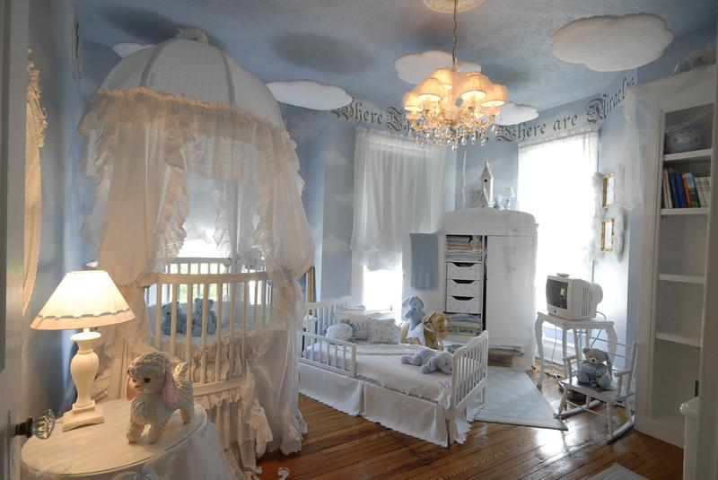 Beautiful Soft Baby Boy Nursery
