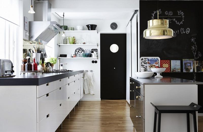 Scandinavian Kitchen Design charming scandinavian kitchen Charming Scandinavian Kitchen