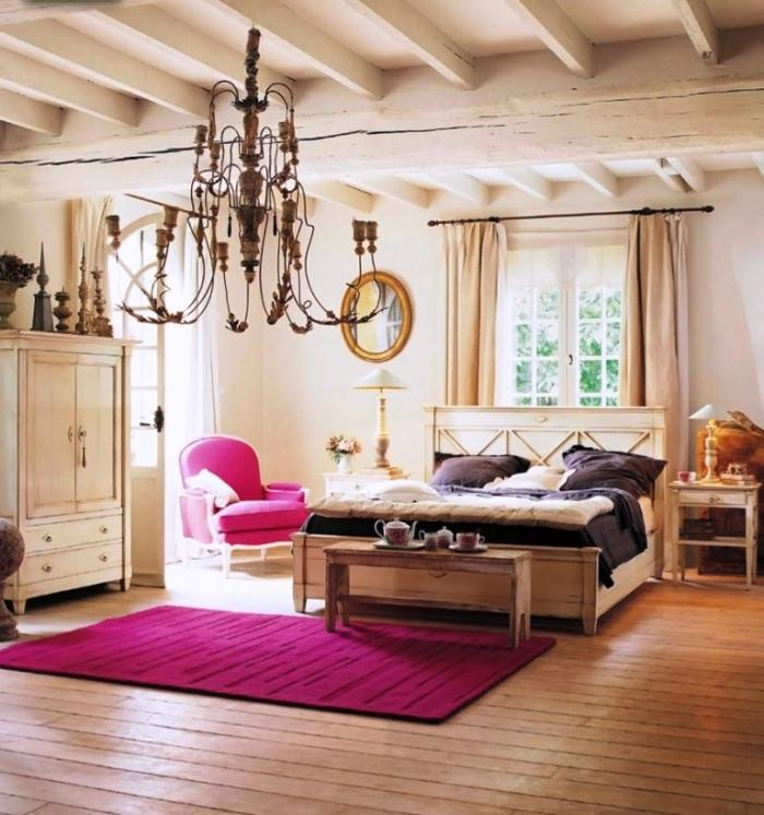 15 modern classic bedroom designs rilane for Fuschia bedroom ideas