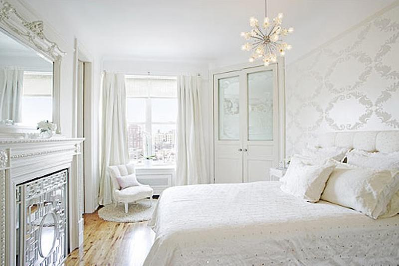 20 Breathtakingly Soft All White Bedroom Ideas - Rilane
