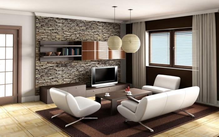 Modern Interiors contemporary-living-room