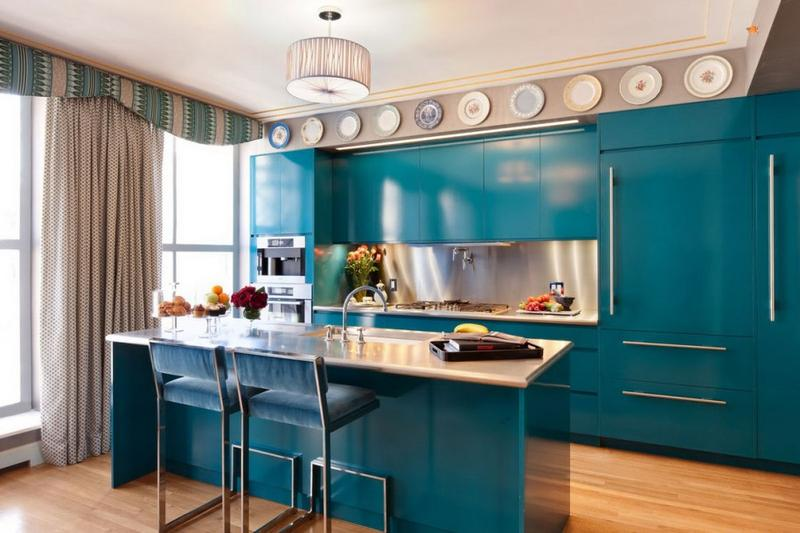 Blue Kitchens 20 refreshing blue kitchen design ideas - rilane
