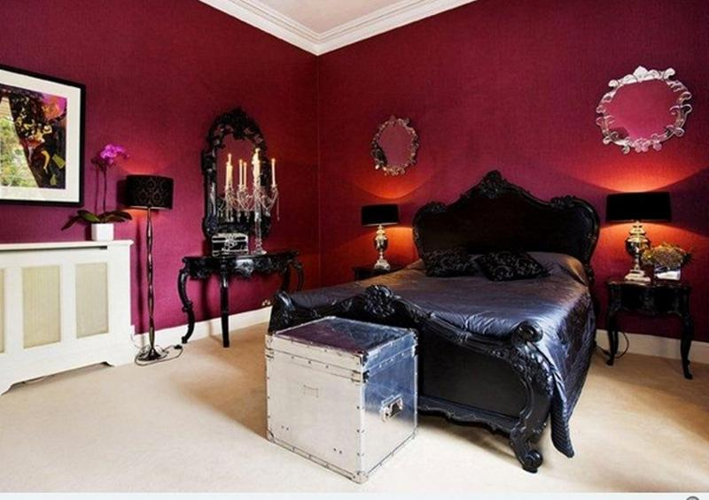 contemporary gothic bedroom. beautiful ideas. Home Design Ideas