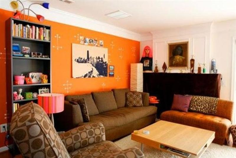 Living Room Decor Orange 15 lively orange living room design ideas - rilane