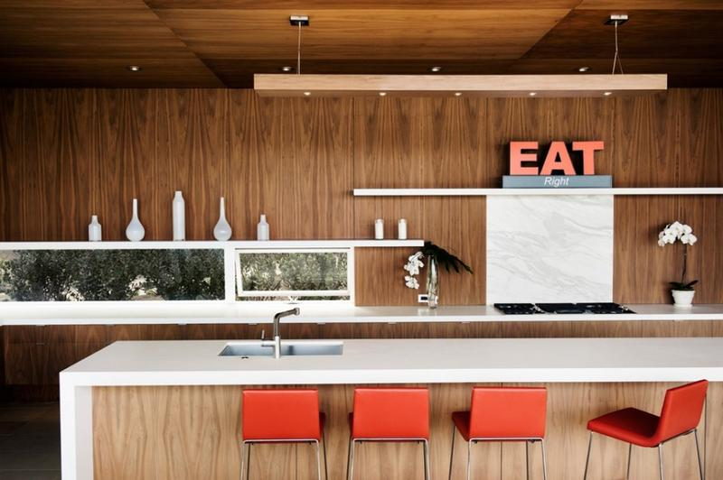 15 Captivating Kitchen Designs With Wood Paneled Walls