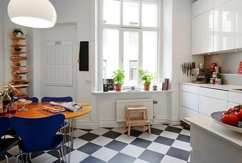 Cool Scandinavian Kitchen