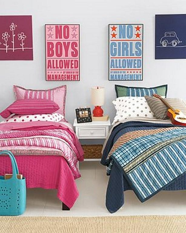 15 interesting boy and girl shared bedroom ideas - rilane