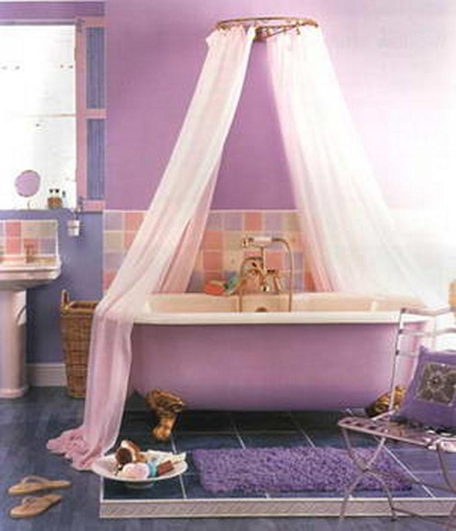Cute Purple Bathroom