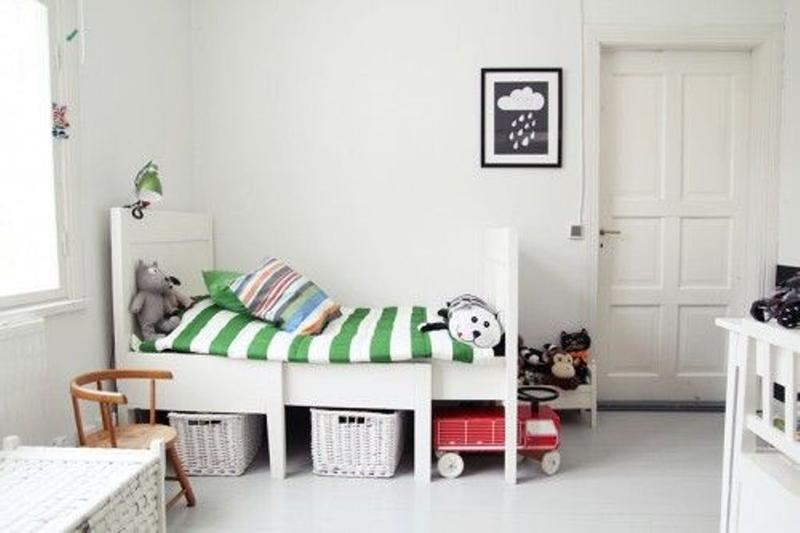 15 captivating scandinavian kid s bedroom ideas rilane - Decoracion para cuartos de bebes ...