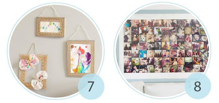 Amazoncom  Umbra Gridart 4x4 Picture Frame  DIY Gallery