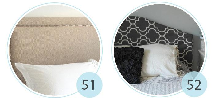 how to make upholstered headboard with nailhead trim