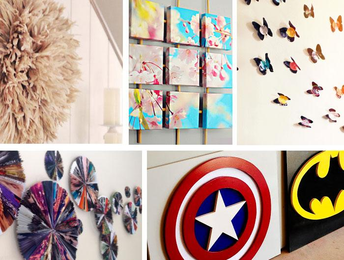 130 DIY wall decor