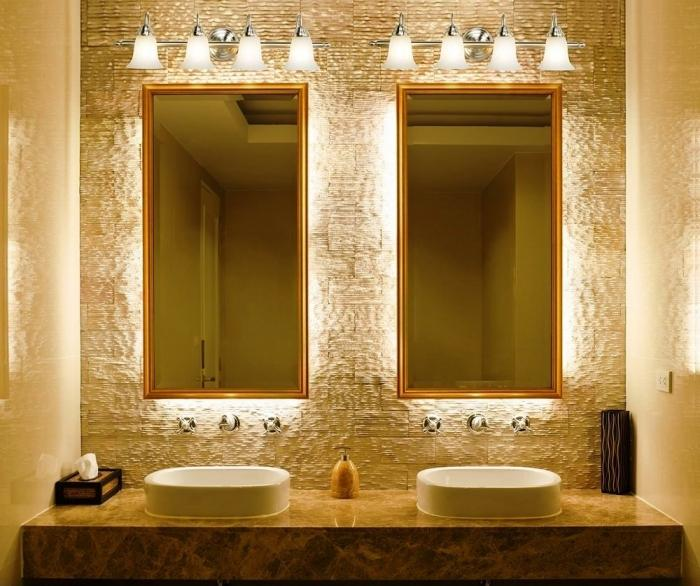 elegant bathroom lighting - Designer Bathroom Lights
