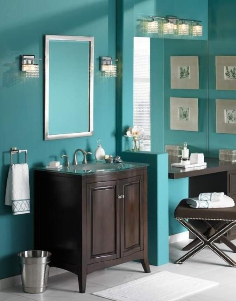 Bathroom Ideas Turquoise turquoise bathroom ideas | home design ideas