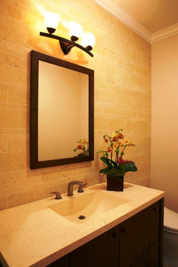 Bathroom Design Lighting bathroom lighting. light behind the mirror lighting design