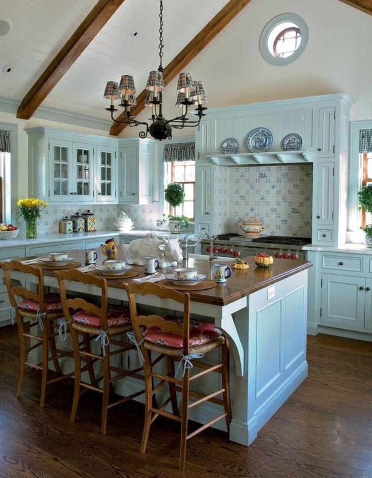 20 Refreshing Blue Kitchen Design Ideas