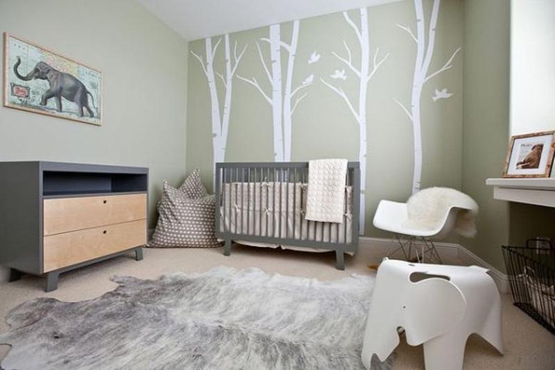 Adorable Baby Boy Nurseries Ideas Rilane - Baby boy forest nursery room ideas