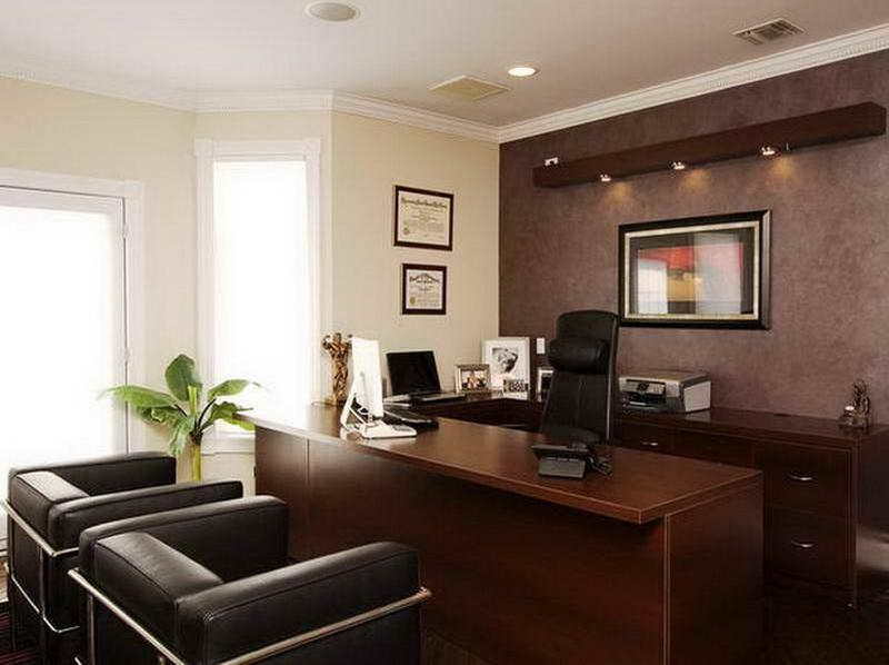 Home Office Paint Ideas Glamorous 15 Home Office Paint Color Ideas  Rilane Design Ideas