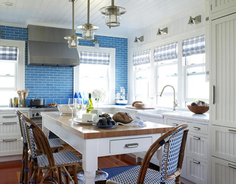 48 Refreshing Blue Kitchen Design Ideas Rilane Magnificent Blue Kitchen Designs