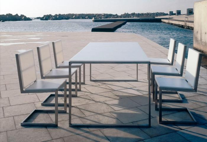 15 stylish outdoor dining sets rilane for 12 seater outdoor table and chairs
