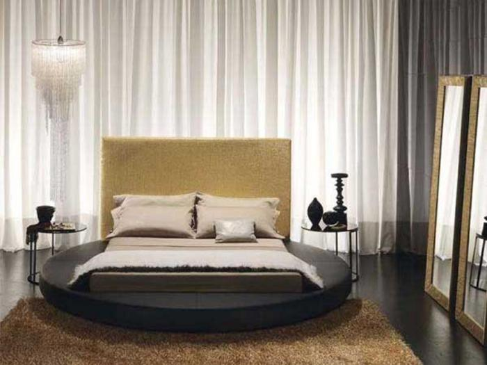 sharp groovy white bedroom inspiration furniture | 15 Modern Classic Bedroom Designs - Rilane