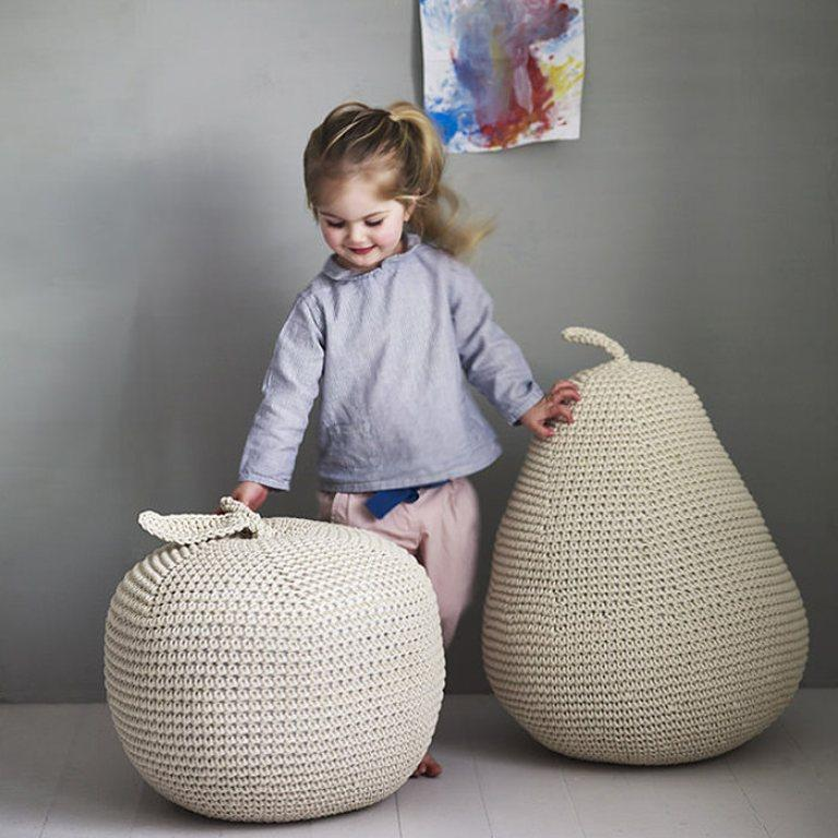 10 Fun and Beautiful Poufs for Kid's Bedroom