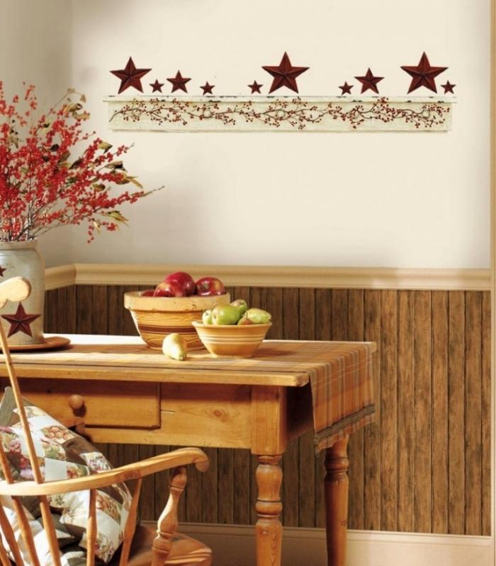 Wall Sticker Ideas Part - 39: Holiday Kitchen Wall Sticker Design