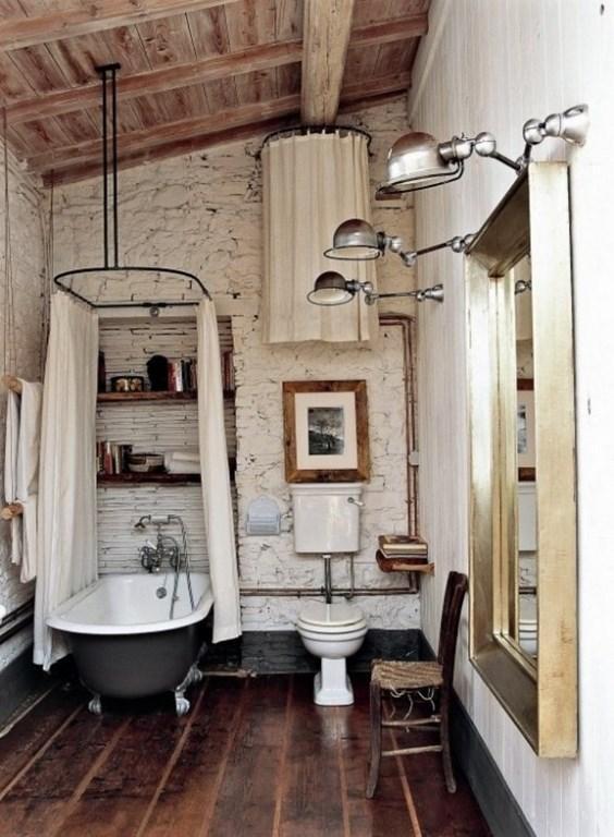 Industrial Rustic Bathroom