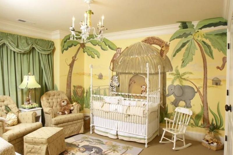 jungle themed boy nursery - Baby Boys Room Ideas