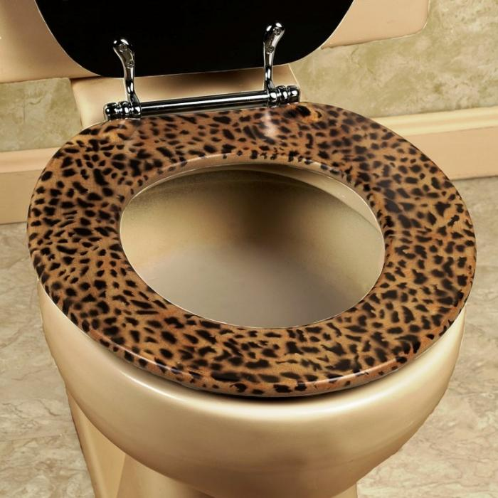 Brown Toilet Seat Cover Velcromag