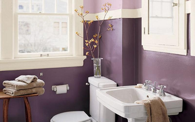 Bathroom Decorating Ideas Purple 15 charming purple bathroom ideas - rilane