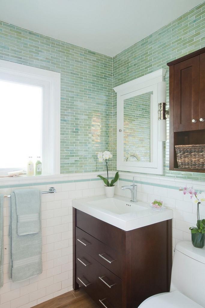 Light Turquoise Bathroom