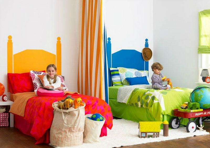 15 interesting boy and girl shared bedroom ideas rilane for Boy and girl bedroom designs