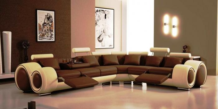 Living Room Paintings. Luxury Brown Living Room with Wall Paintings 15 Solid Color Rooms  Rilane