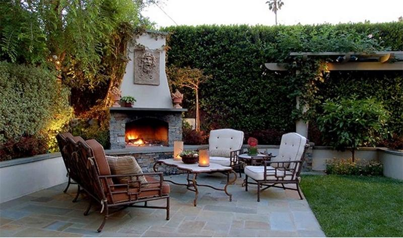 10 Amazing Outdoor Stone Fireplace Ideas to Inspire
