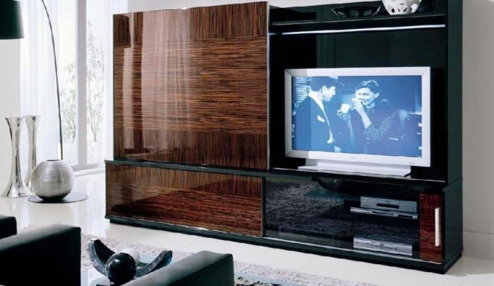 15 cozy tv room ideas rilane for Elegant wall units