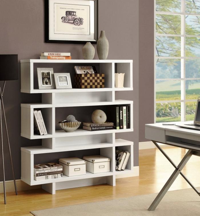 15 Outstanding Standing Bookshelves For Your Living Room