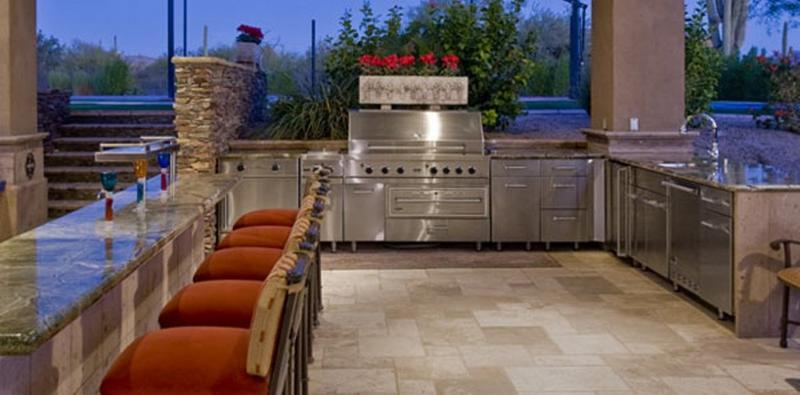 10 Beautiful Outdoor Kitchen Ideas Rilane
