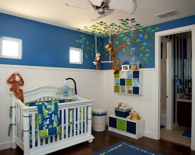 Baby Room Ideas For A Boy 15 Adorable Baby Boy Nurseries Ideas  Rilane