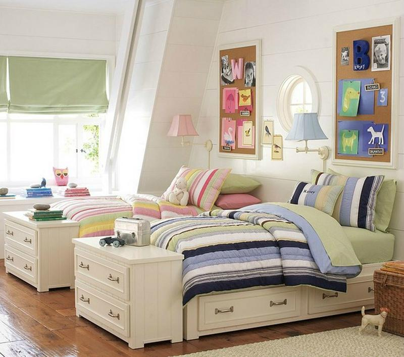 Neutral Boy and Girl Shared Bedroom. 15 Interesting Boy and Girl Shared Bedroom Ideas   Rilane