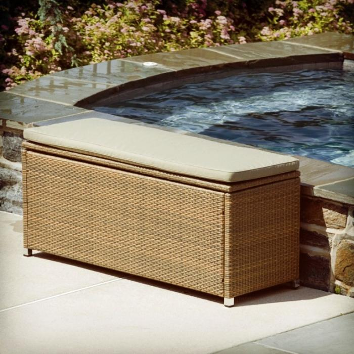 10 Functional Outdoor Storage Benches - Rilane