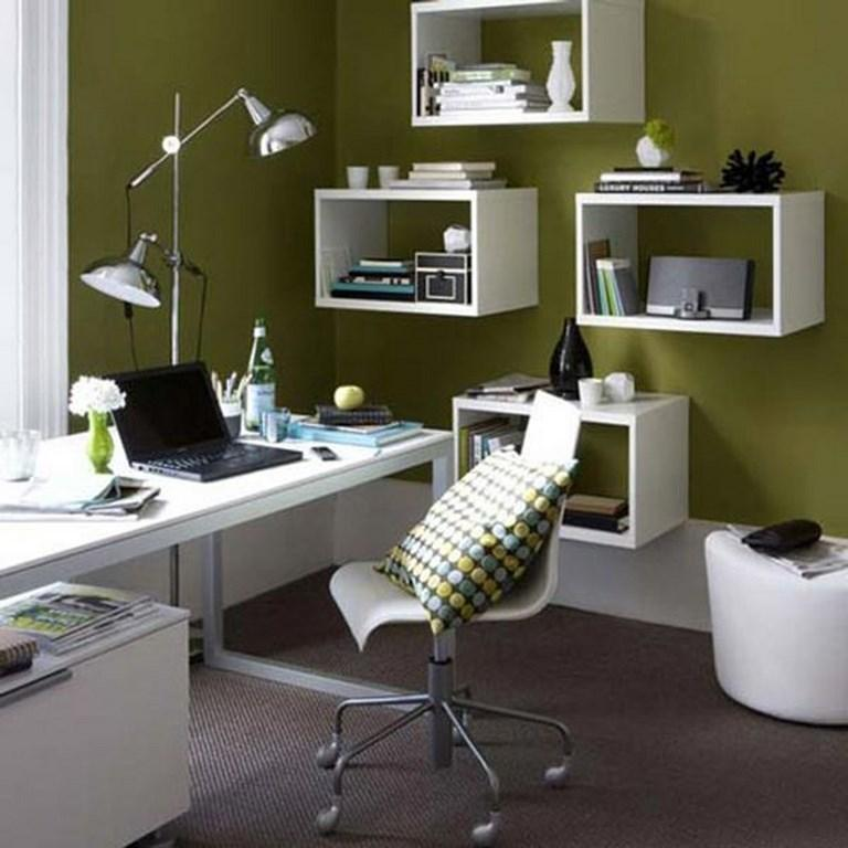 15 Home Office Paint Color Ideas