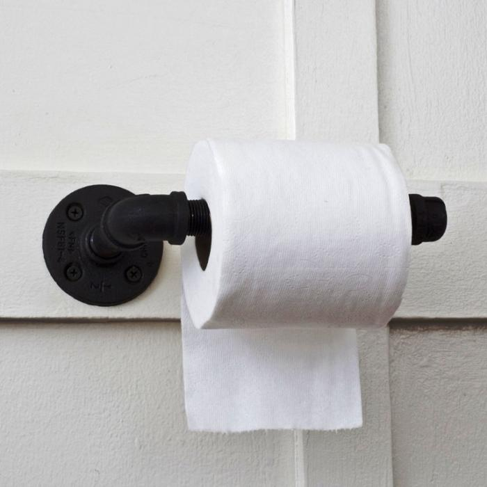 15 Toilet Paper Holders For The Bathroom Rilane - Icarta-ipod-dock-and-toilet-roll-dispenser