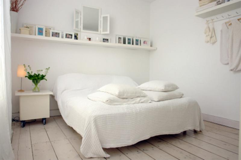 20 breathtakingly soft all white bedroom ideas - White Bedrooms