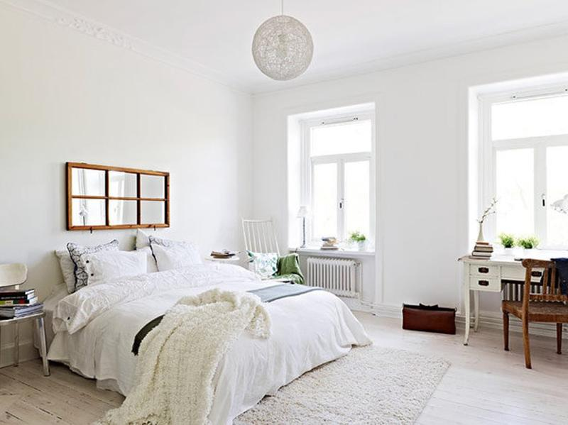 20 Breathtakingly Soft All White Bedroom Ideas - Rilane
