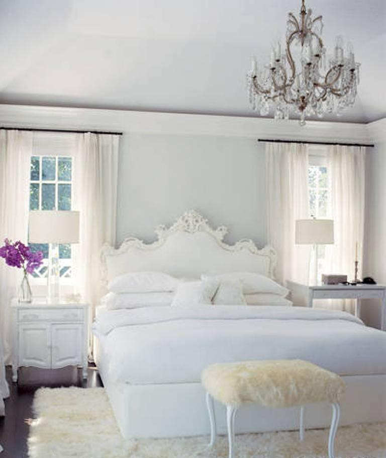 Romantic Rooms And Decorating Ideas: 20 Breathtakingly Soft All White Bedroom Ideas