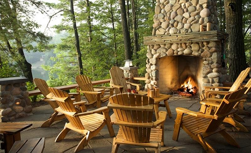 Outside Stone Fireplace Ideas: 10 Amazing Outdoor Stone Fireplace Ideas To Inspire