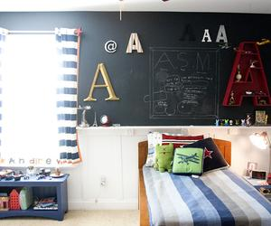 15 Whismiscal Kid's Bedroom Designs with a Chalkboard Wall