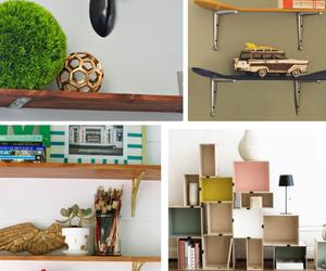 80 DIY Shelves for Your Home